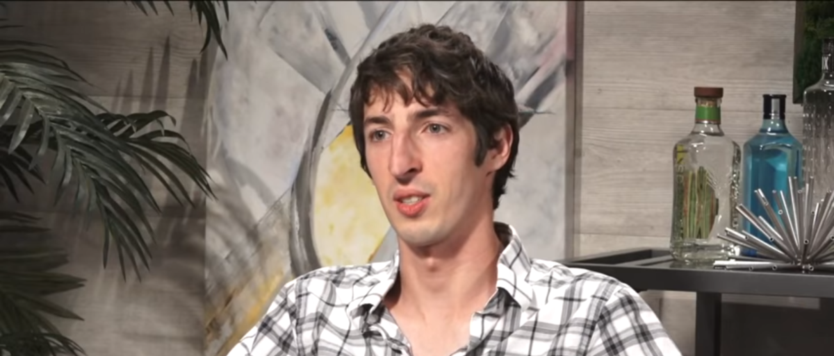 Dave Rubin of The Rubin Report interviews fired Google employee James Damore. (Photo Credit: YouTube/The Rubin Report)