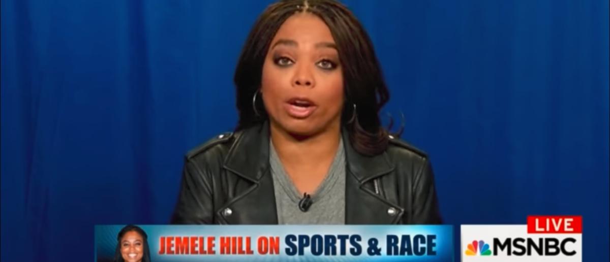 Jemele Hill On MSNBC's Politics Nation Talking Trump 2-4-18 YouTube Screenshot-TODAY BREAKING NEWS