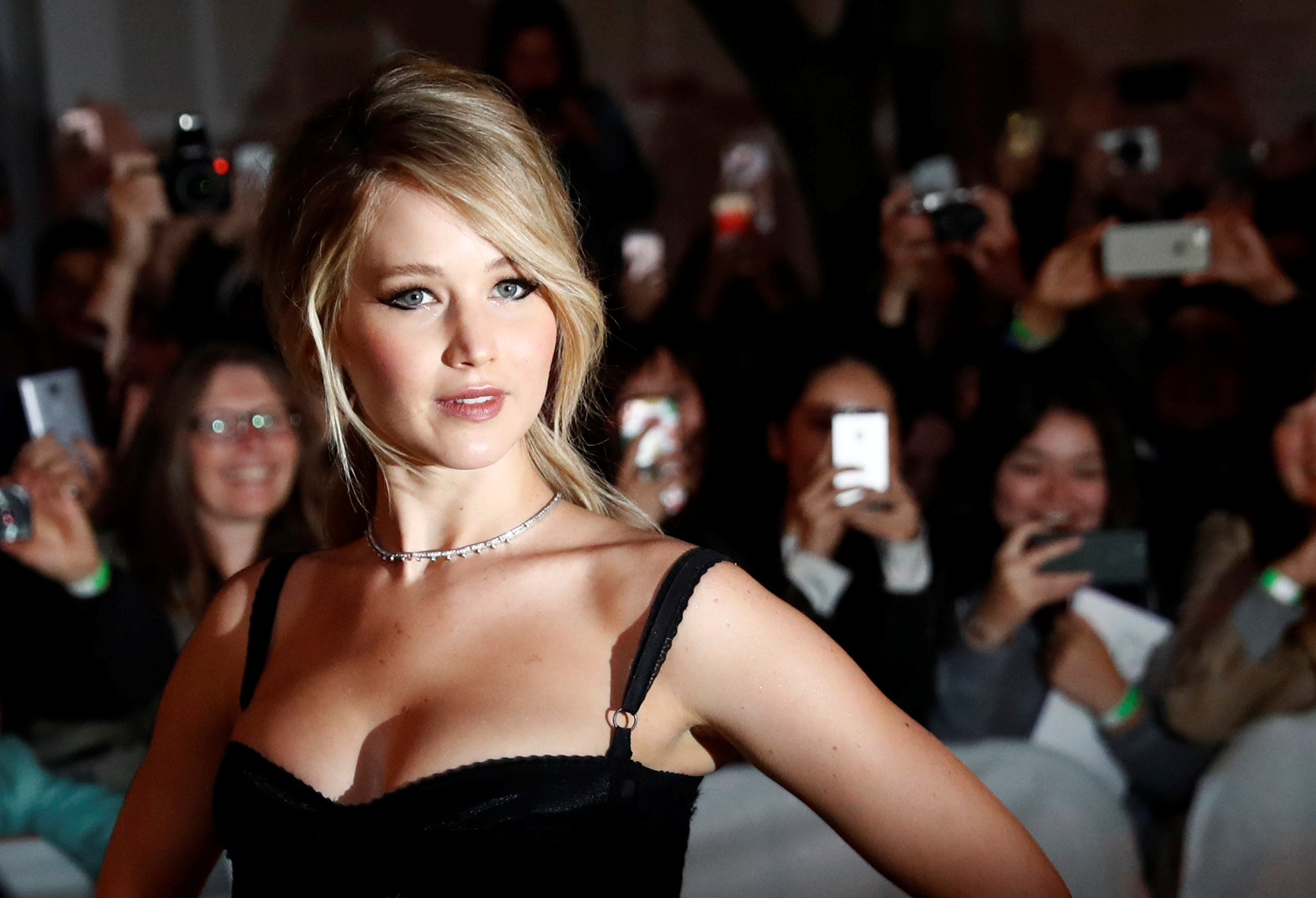 Jennifer Lawrence says her nudity on 'Red Sparrow' set made people uncomfortable