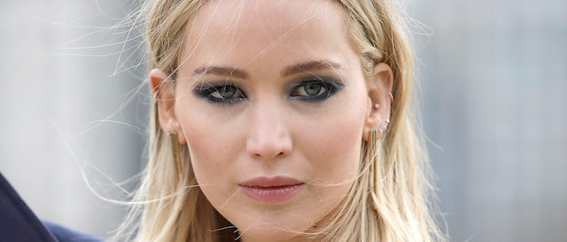 "Jennifer Lawrence during the ""Red Sparrow"" photocall at The Corinthia Hotel on February 20, 2018 in London. (Photo by John Phillips/John Phillips/Getty Images)"
