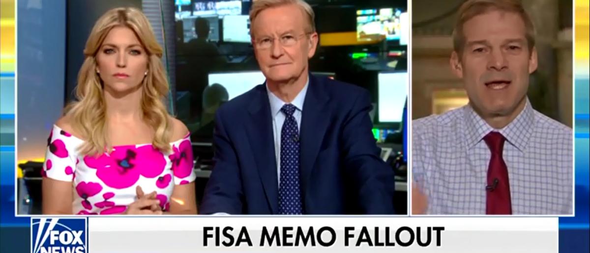Jim Jordan Slams Clinton Cronies For Involvement In Dossier Fox & Friends 2-6-18