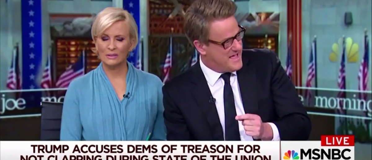 Joe Scarborough Can't Decide If Trump Helped Or Hurt The Economy - Morning Joe 2-6-18