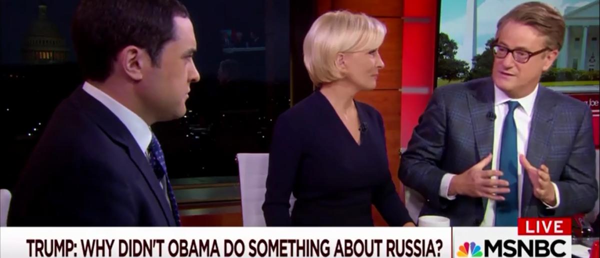 Joe Scarborough says It's unlikely Trump is indicted by Mueller - Morning Joe 2-20-18 (Screenshot/MSNBC)