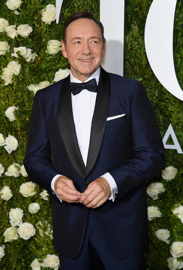 Host Kevin Spacey attends the 2017 Tony Awards at Radio City Music Hall on June 11, 2017 in New York City. (Photo by Dimitrios Kambouris/Getty Images for Tony Awards Productions)