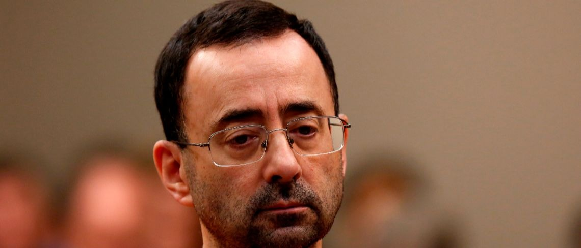 Larry Nassar Getty Images/Jeff Kowalsky