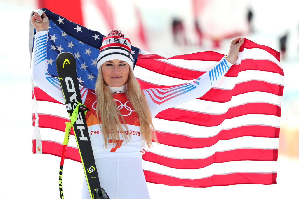 Goggia captures Olympic downhill title, beats pal Vonn