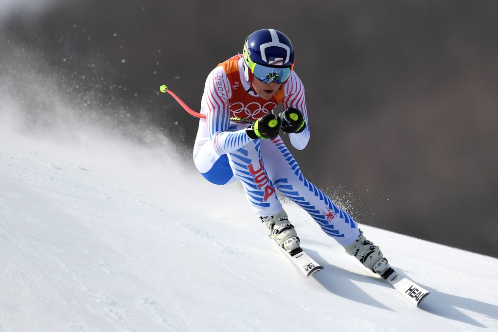 Shiffrin claims silver after Vonn's fairytale ending misses its gate
