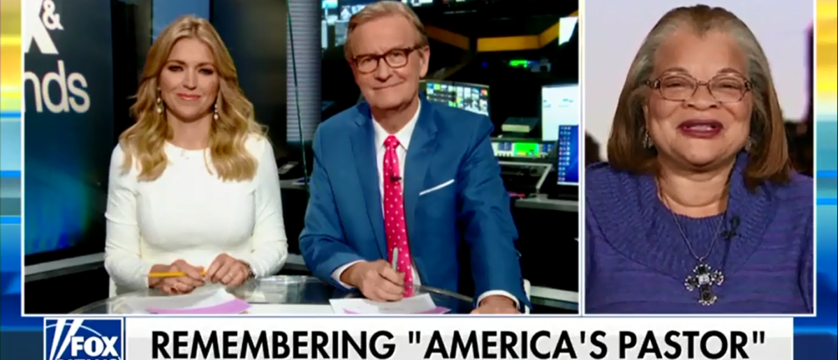 MLK's Niece Encourages America To 'Pray Without Ceasing' - Fox & Friends 2-22-18 (Screenshot/Fox News)