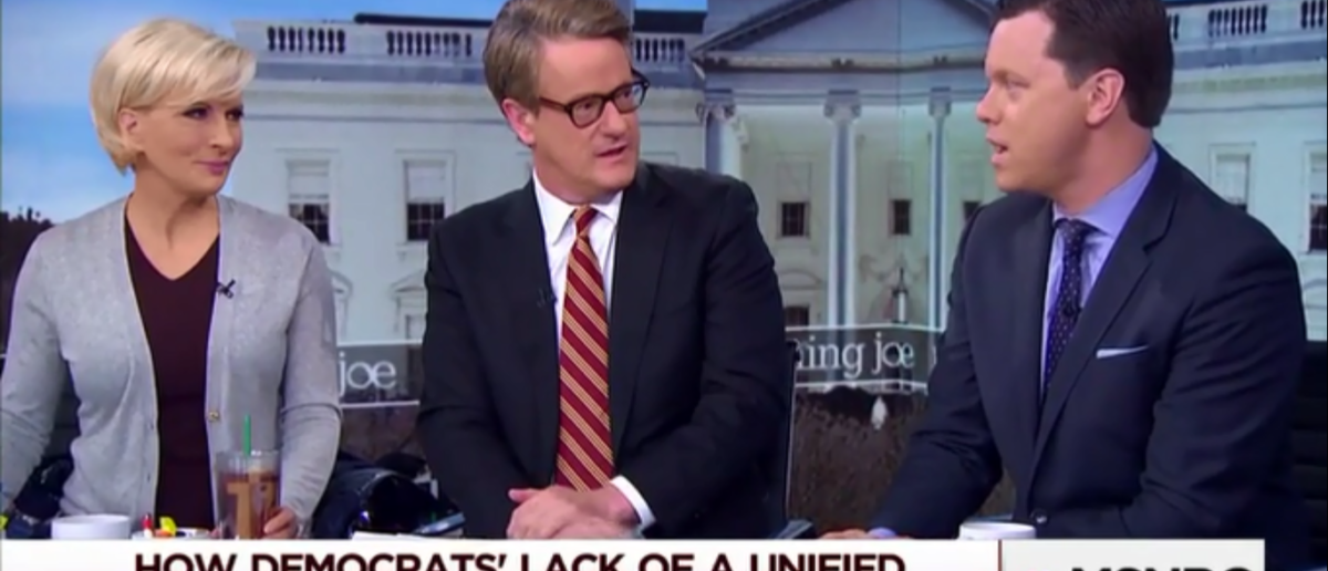 MSNBC's Joe Scarborough Thinks Dems Are Addicted To Identity Politics And Are Their Own Worst Enemies' 2-27-18