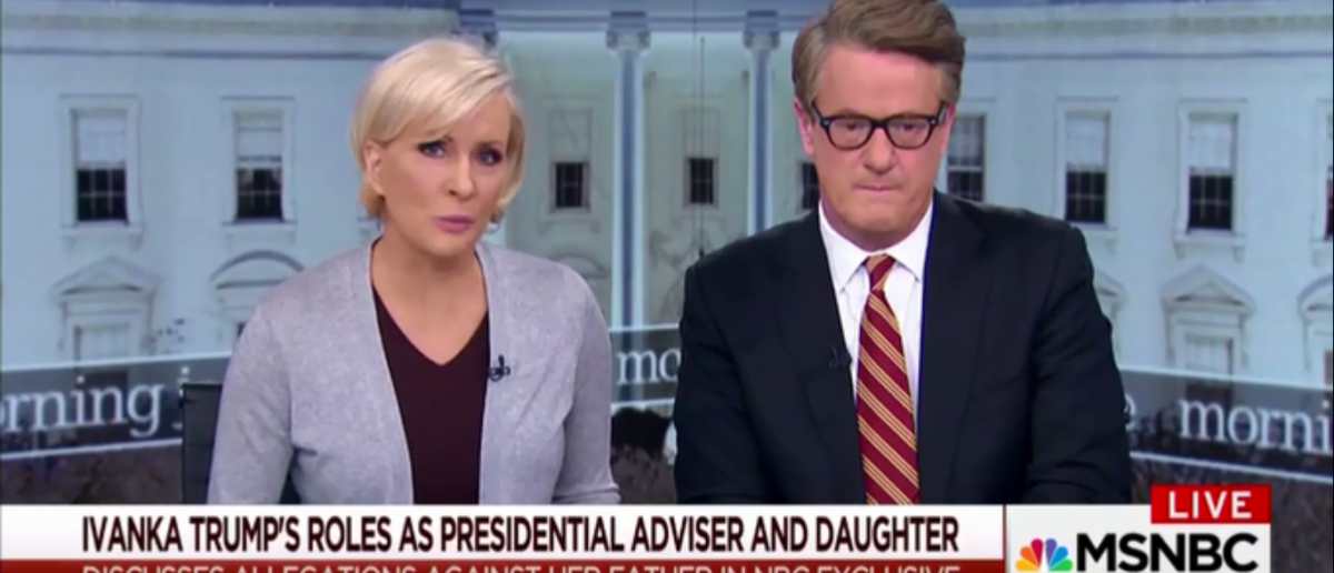 MSNBC's Mika Mocks Melania And Ivanka's Roles In The WH And Calls It An 'Insult To Women' 2-27-18