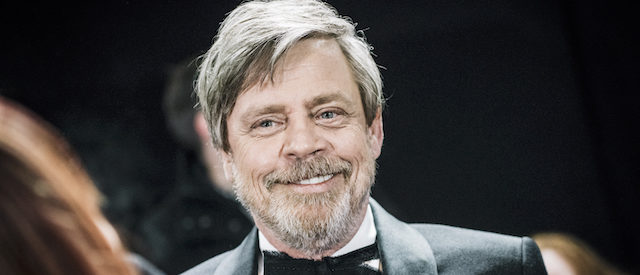 Mark Hamill attends the European Premiere of Star Wars: The Last Jedi at the Royal Albert Hall on December 12, 2017 in London. (Photo by Gareth Cattermole/Getty Images for Disney)