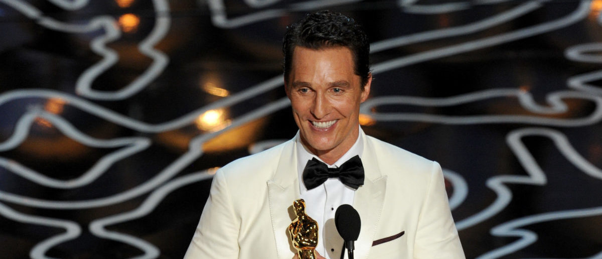 matthew mcconaughey s 2014 oscars speech will always be incredible long room. Black Bedroom Furniture Sets. Home Design Ideas
