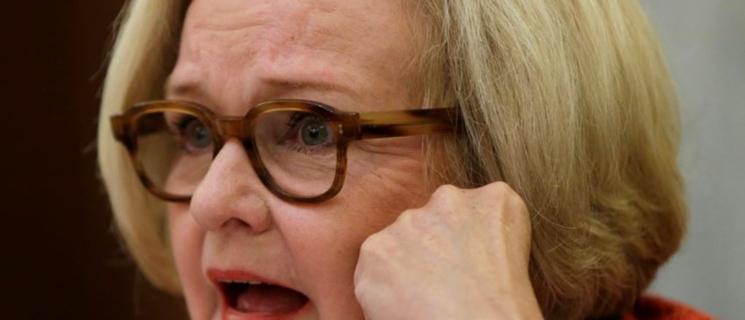 McCaskill at Subcommittee