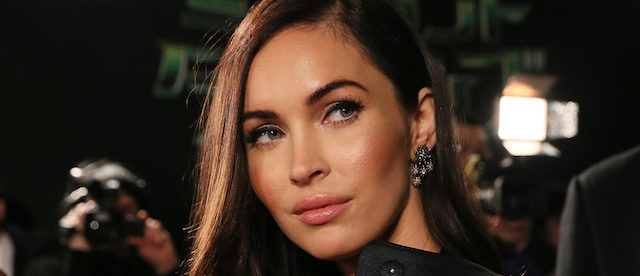 TOKYO, JAPAN - FEBRUARY 02: Actress Megan Fox speaks to the media as she attends the Tokyo Premiere of 'Teenage Mutant Ninja Turtles' at Yurakucho Marion on February 2, 2015 in Tokyo, Japan. (Photo by Ken Ishii/Getty Images for Paramount Pictures International)