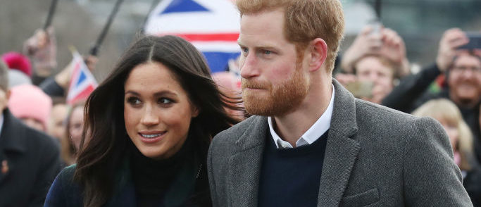 Prince Harry and Meghan Markle visit Edinburgh. (Photo by Andrew Milligan - WPA Pool/Getty Images)