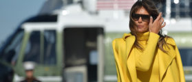 Celebrate Melania's Birthday With Her Greatest Looks As First Lady [SLIDESHOW]