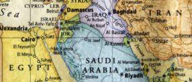 Middle East map Shutterstock/Robert Hale
