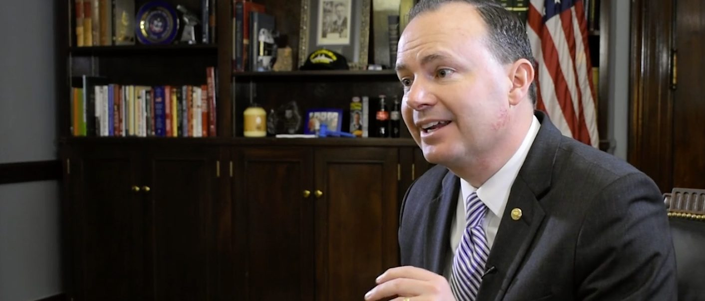 Sen. Mike Lee says our current debt track is unsustainable - Photo: The Daily Caller