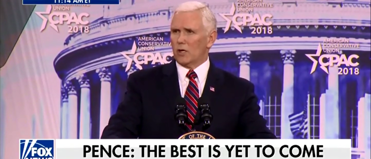 Mike Pence Destroys Nancy Pelosi To Thundering Applause At CPAC - Fox News 2-22-18