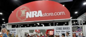 An NRA Store at the National Rifle Association's (NRA) annual meeting in Louisville, Kentucky, May 21, 2016.   REUTERS/John Sommers II