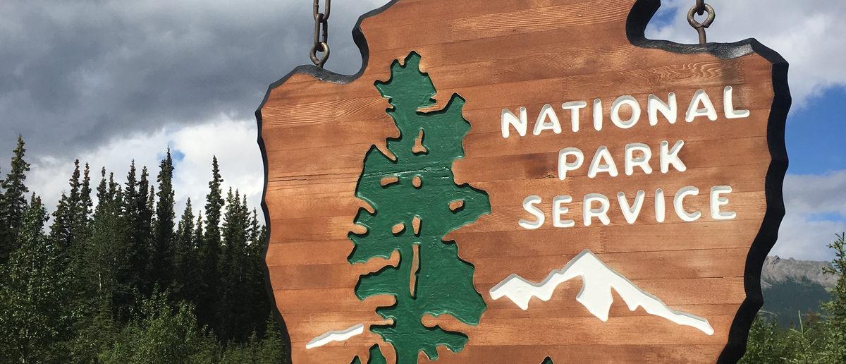 National Park Service Sign (Shutterstock/Santiparp Wattanaporn)