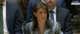 Nikki Haley Stuns Palestinians At UN — 'I Will Not Shut Up'