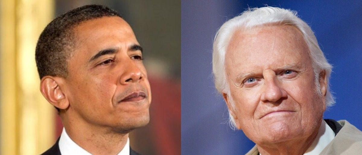 Barack Obama, Billy Graham (Getty/Mark Wilson/Alex Wong/Getty)