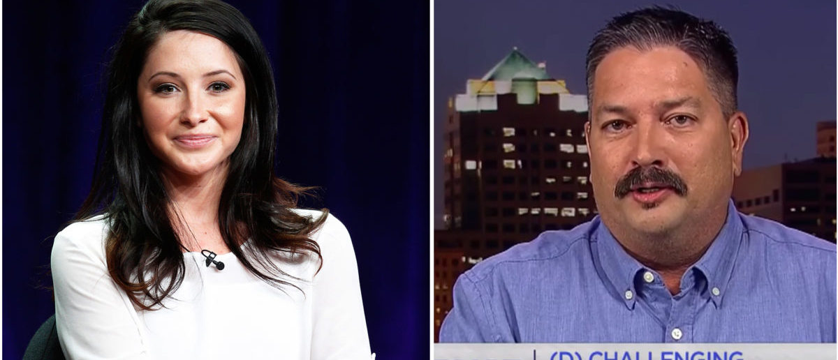 Bristol Palin (REUTERS/Fred Prouser/File Photo) and Randy Bryce (Screenshot/MSNBC); Graphic credit: Guillaume Pierre-Louis/Daily Caller