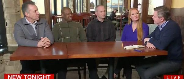 Panel Iowa CNN screenshot