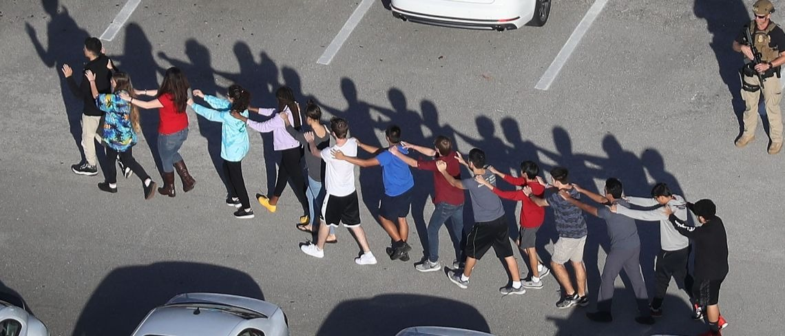 Parkland Florida shooting Getty Images/Joe Raedle