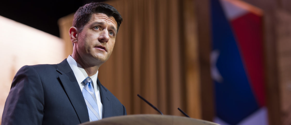 The Washington Post editorial board criticized Speaker of The House Paul Ryan for his actions regarding the Foreign Intelligence Surveillance Court (FISA) memo and accused him of tarnishing Congress, in a Thursday op-ed. (Photo: ShutterStock)