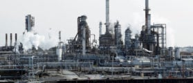 A general view shows the Philadelphia Energy Solutions petroleum refinery in Philadelphia