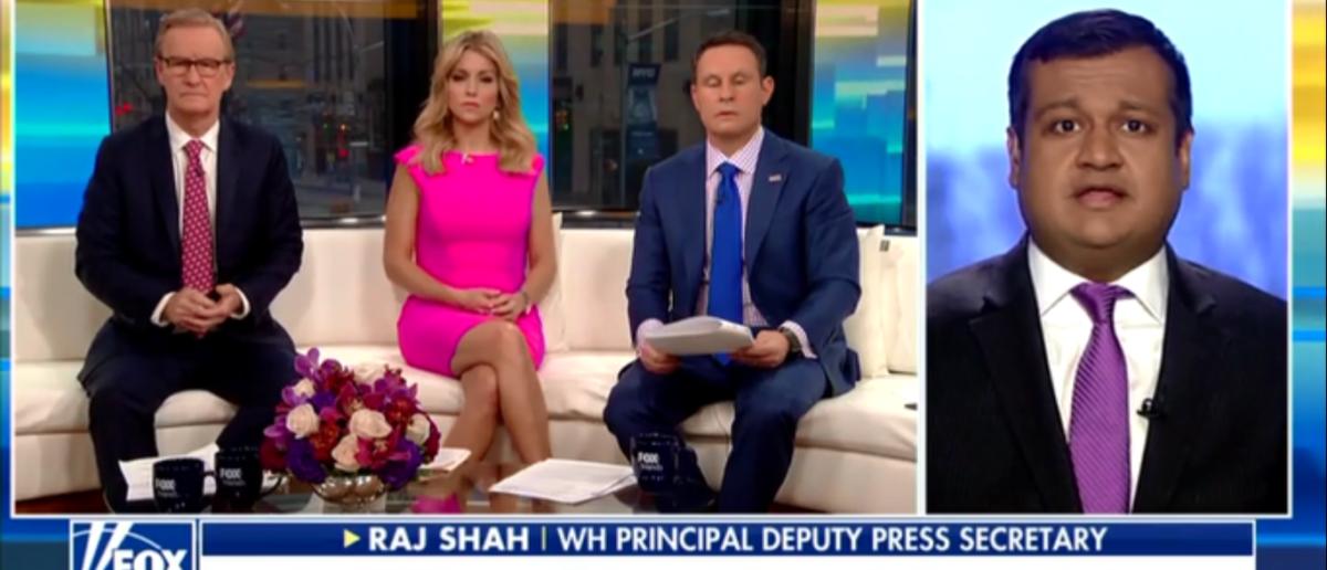 Raj Shah says Trump Better at handling Russia than Obama - Fox & Friends 2-19-18