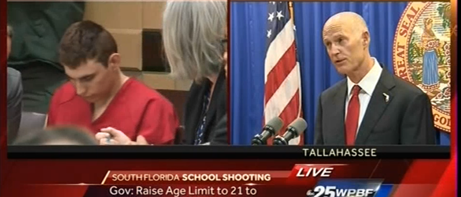 Rick Scott announces Gun control measures 2-23-18 ABC News