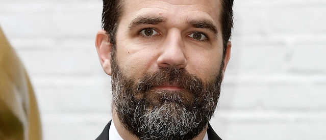 LONDON, ENGLAND - APRIL 24:  Rob Delaney arrives for the British Academy Television Craft Awards at The Brewery on April 24, 2016 in London, England.  (Photo by John Phillips/Getty Images)