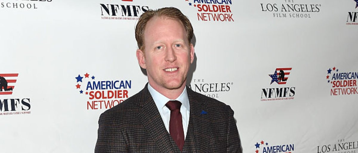 LOS ANGELES, CA - MARCH 14: Former United States Navy SEAL Robert O'Neill attends the Salute To Heroes service gala to benefit The National Foundation For Military Family Support at The Majestic Downtown on March 14, 2015 in Los Angeles, California. (Photo by Jason Merritt/Getty Images for NFMFS)