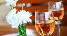 If you're too lazy to make these cocktails, you can always grab a bottle of Rosé. If you like dry wines, try Grenache, Sangiovese, or Pinot Noir. If you like sweet wines, try White Zinfandel, White Merlot, or Pink Moscato.  (Photo credit: Shutterstock)