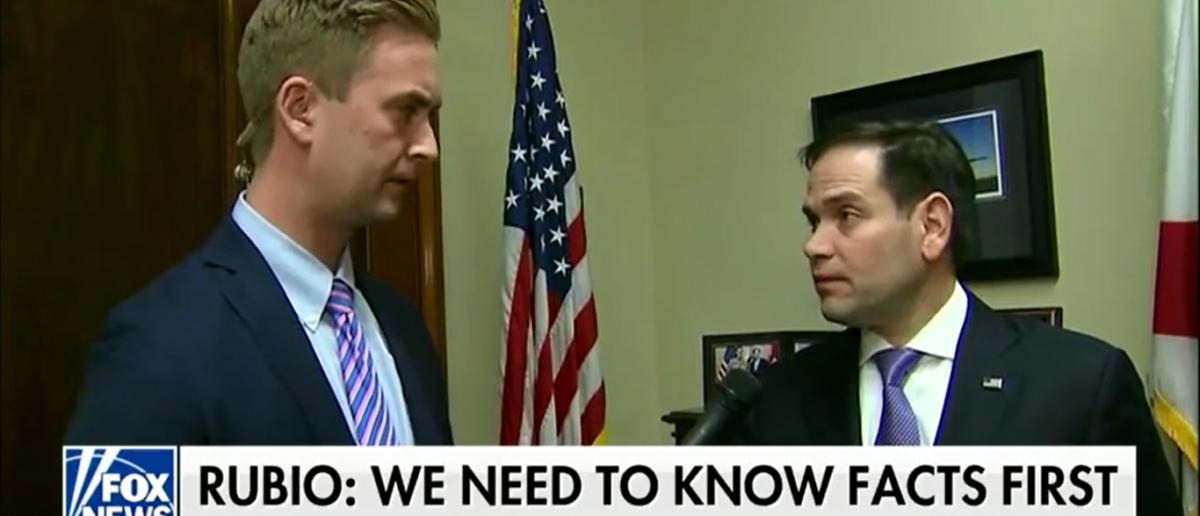 Rubio Cautions against talk of gun control - Fox & Friends First 2-15-18 (Screenshot/Fox News)