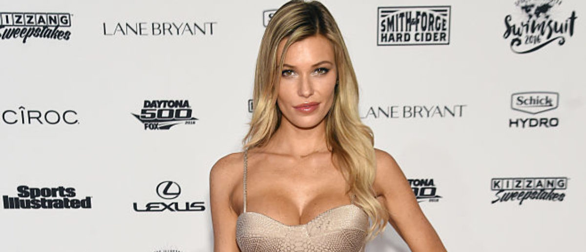 NEW YORK, NY - FEBRUARY 16: Model Samantha Hoopes attends the Sports Illustrated Swimsuit 2016 - NYC VIP press event on February 16, 2016 in New York City. (Photo by Jamie McCarthy/Getty Images for Sports Illustrated)