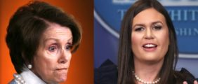 Sarah Sanders Hopped Online Late Monday Night To Absolutely Destroy Nancy Pelosi