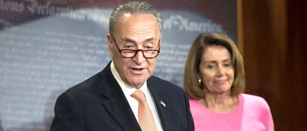 Schumer Pelosi AFP/Getty Images/Saul Loeb