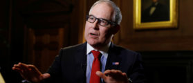 U.S. Environmental Protection Agency chief Scott Pruitt speaks during an interview with Reuters in Washington