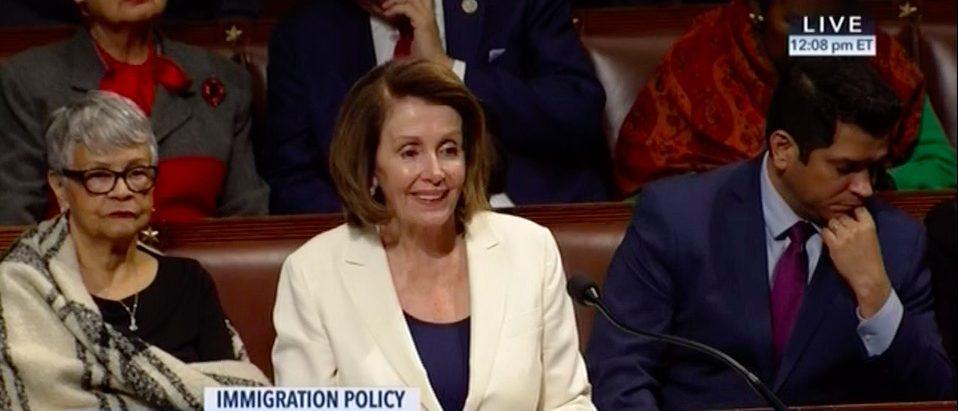 Screen Shot Rep. Nancy Pelosi (CSPAN: Feb 7, 2018)
