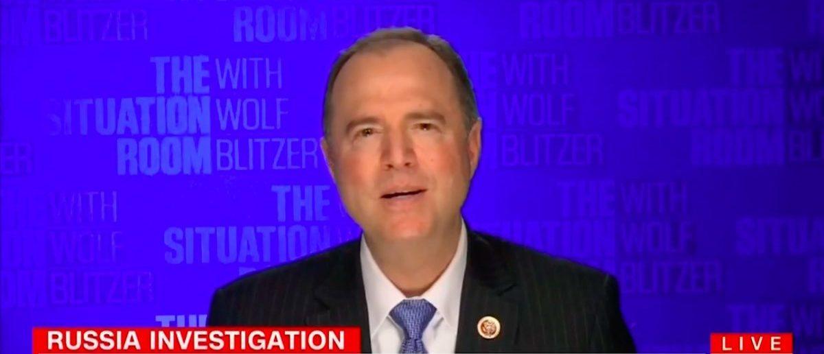 Screen Shot Rep. Adam Schiff (CNN: Feb 2, 2018)