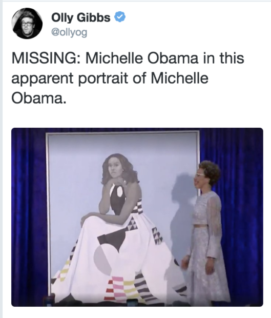 Michelle Obama Unveiled Her Official Portrait – The Audience Reaction Says It All