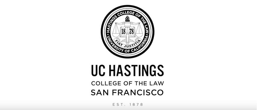 Screen Shot UC Hastings Logo (Youtube: Feb 16, 2018)