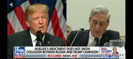 Trump Reacts To Mueller Indictment In Tweetstorm
