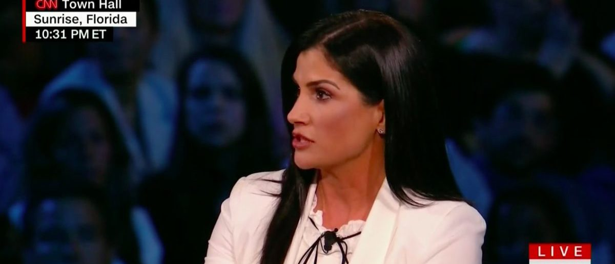 Screen Shot Dana Loesch References Kim Corban (CNN: Feb 21, 2018)