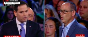 Rubio Gets Booed At CNN Town Hall