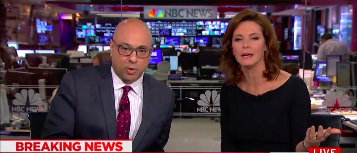 Screen Shot Stephanie Ruhle and Ali Velshi Rip Trump's CPAC Speech (MSNBC: Feb 23, 2018)